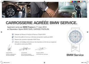 Agrégation BMW Carrosserie
